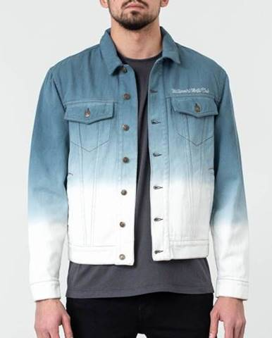 Billionaire Boys Club Dip Dye Trucker Jacket Teal